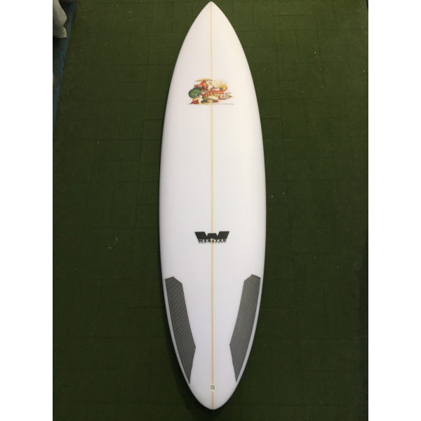 "6'4 Goodtime Hammer ""step up""Surfboard  37.23 Lts"