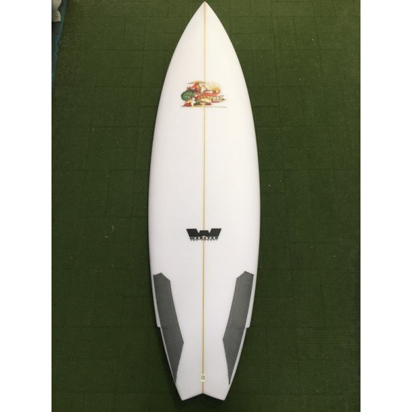 6'0 Goodtime Hot Dog Surfboard 33.37 Lts