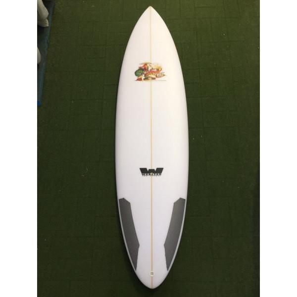 "6'2 Goodtime Hammer ""step up"" Surfboard  37.3 Lts"