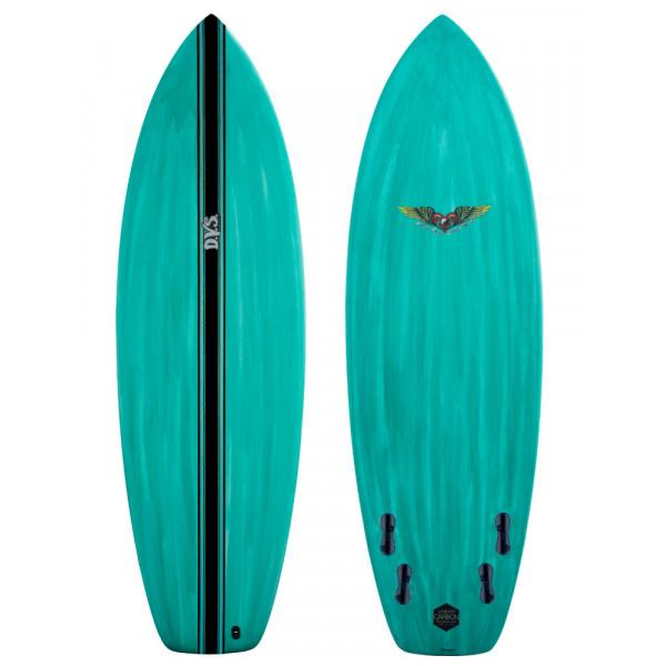 DVS 6'0 Skate LCT Shortboard