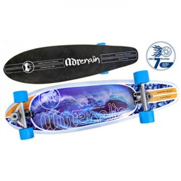 "Adrenalin 38"" Urban Surfer Skateboard"