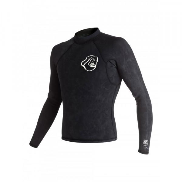 Quicksilver  Mens High Dye 1mm LS Wetsuit Jacket