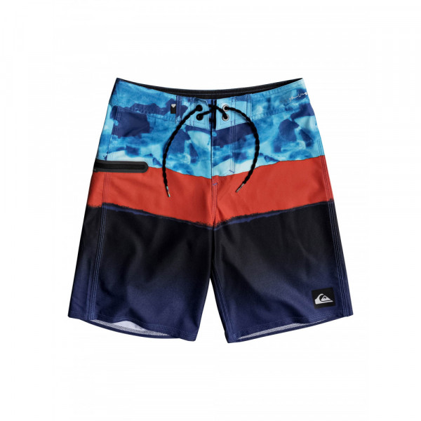"""QS Blocked Camo Youth 17"""" Boardies (25)"""