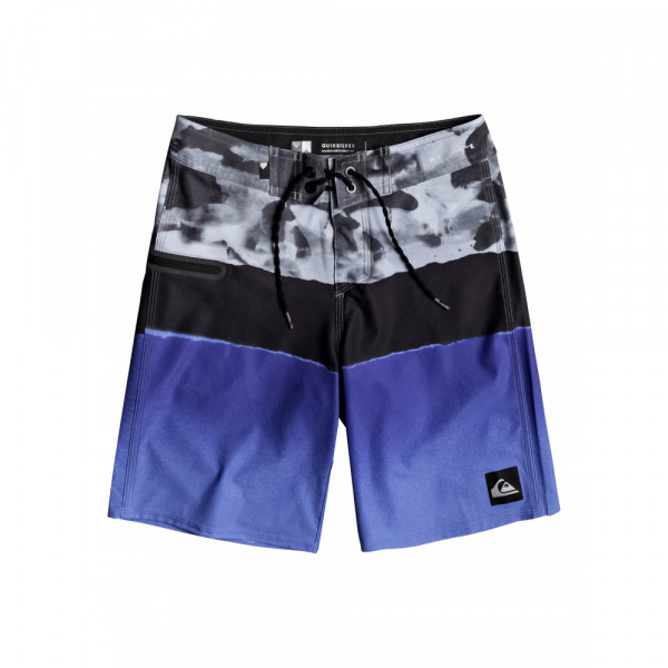 """QS Blocked Camo Youth 17"""" Boardies (26)"""