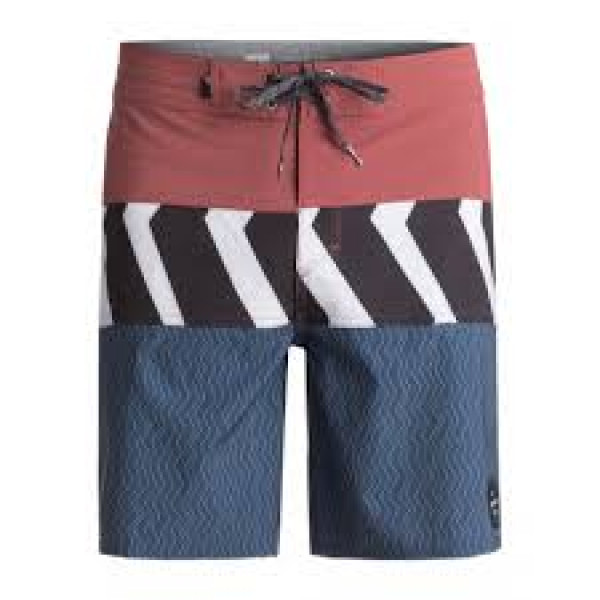 """QS Blocked Camo Youth 17"""" Boardies (30)"""