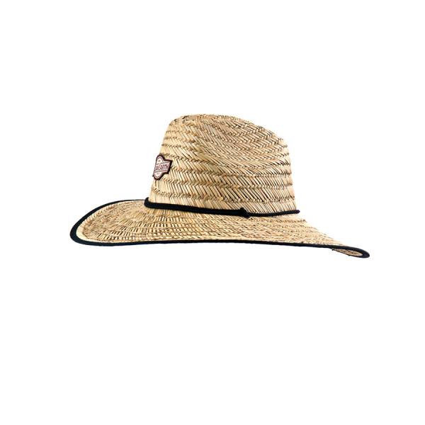 O & E Mens Big Brim Cane Hat
