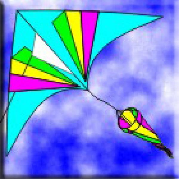 WS Dolphin Kite (857)